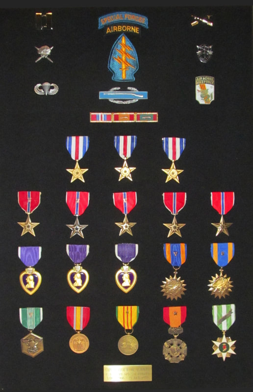 With   3 Silver Stars, 5 Bronze Stars, 3 Purple Hearts, and more, Capt. Albracht is one of the most highly decorated Veterans of the Vietnam War.