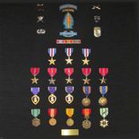 With 3 Silver Stars, 5 Bronze Stars, 3 Purple Hearts, and more awards for valor in service, Capt. William 'Hawk' Albracht of the Green Berets is one of the most decorated veterans of the Vietnam War.